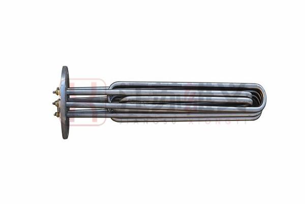 液压油法兰电加热管