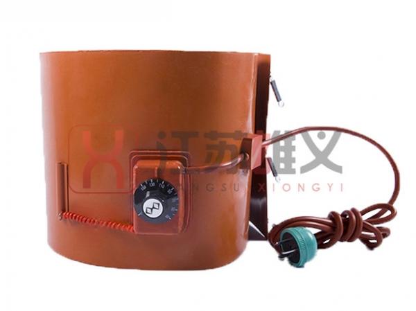 带旋钮温控油桶电热带