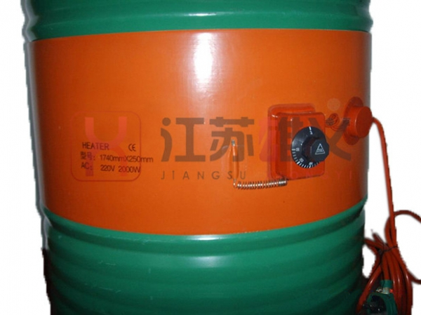 润滑油桶电热带