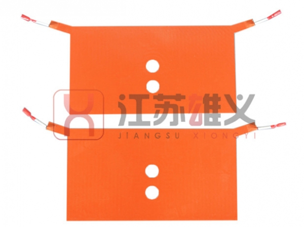 异型硅橡胶电热片
