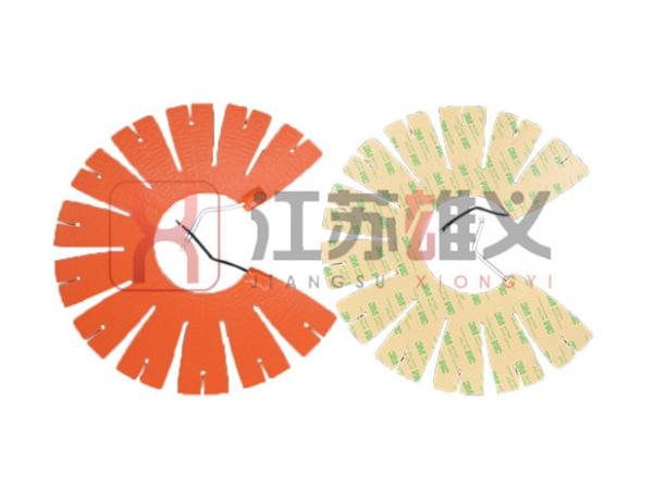 扇形硅橡胶电热片