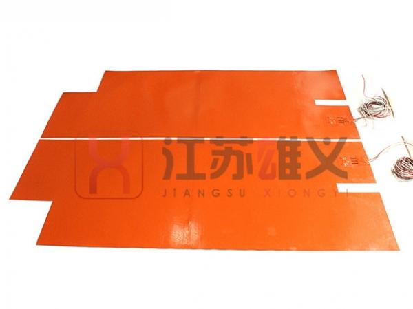 带PT100感温器电热片