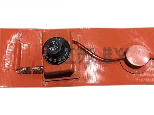 旋钮温控硅橡胶电热带