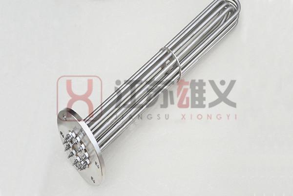 不锈钢法兰电加热管